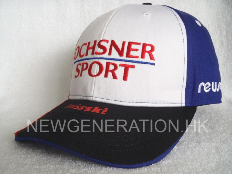 Racing Cap With Curved Visor And Custom Taping2