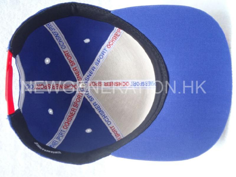 Racing Cap With Curved Visor And Custom Taping6