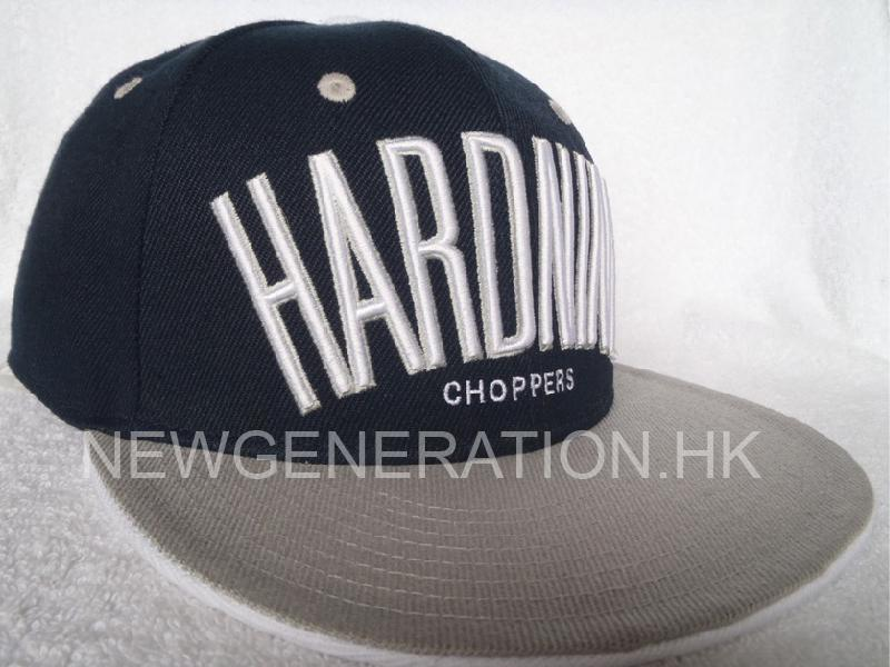 Acrylic Snap Back Cap with 3D Embroidery