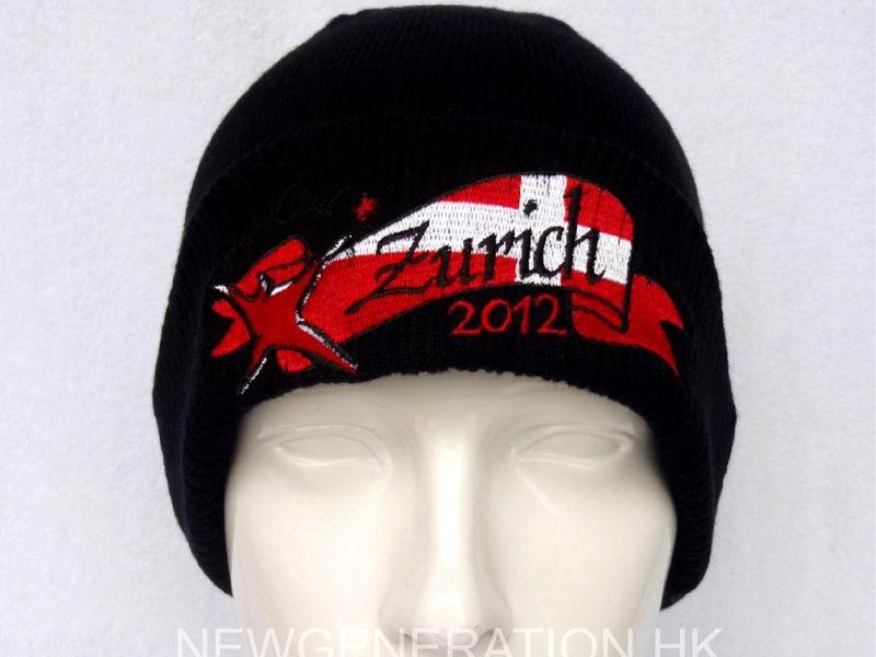 Acrylic Beanie With Embroidery Logo1