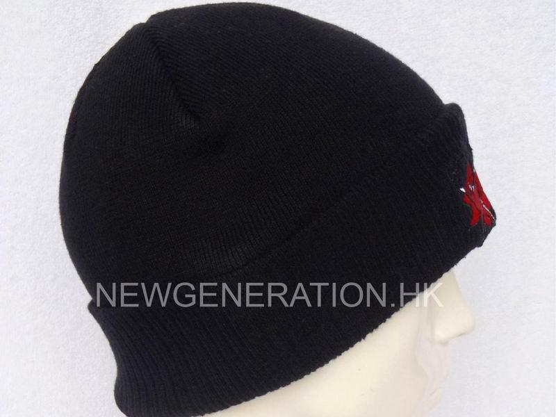 Acrylic Beanie With Embroidery Logo2