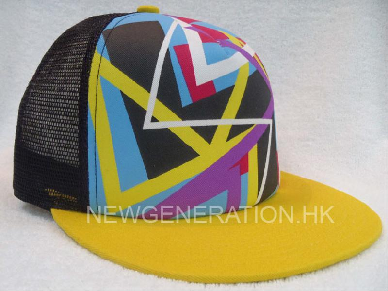 Mesh Trucker Cap with Screen Print Logo