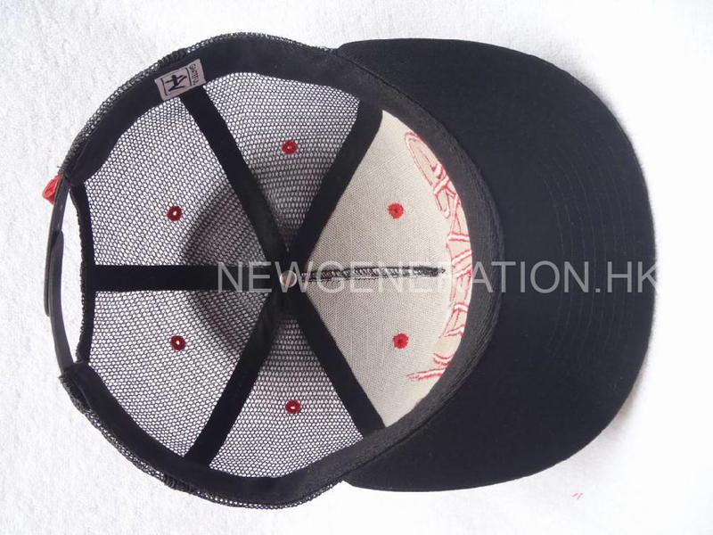 Mesh Trucker Cap With 3d Embroidery And Print6