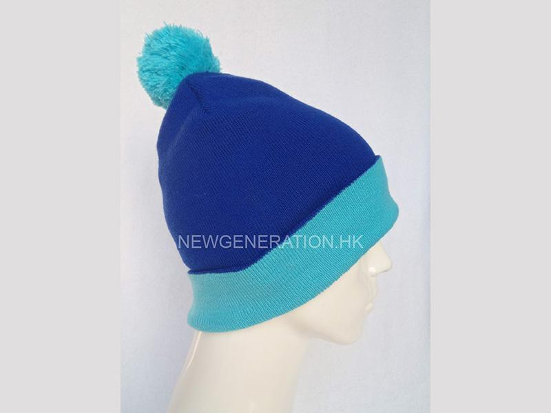 Winter Hat With Pom Pom2