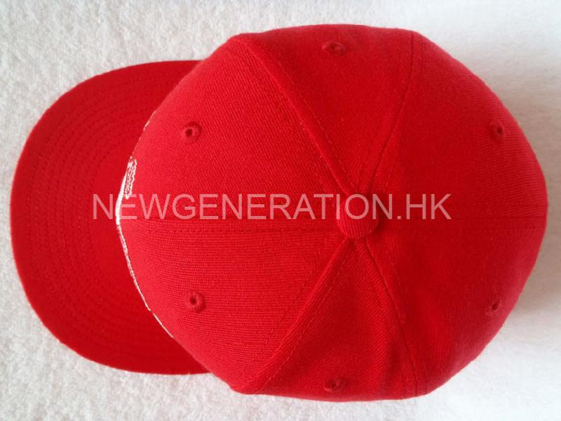 Fitted Cap With Flat Embroidery4