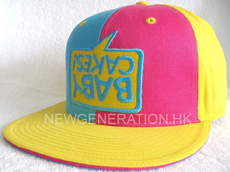 Cotton Fitted Cap With 3d Embroidery2